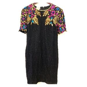 Stenay sequin and beaded dress